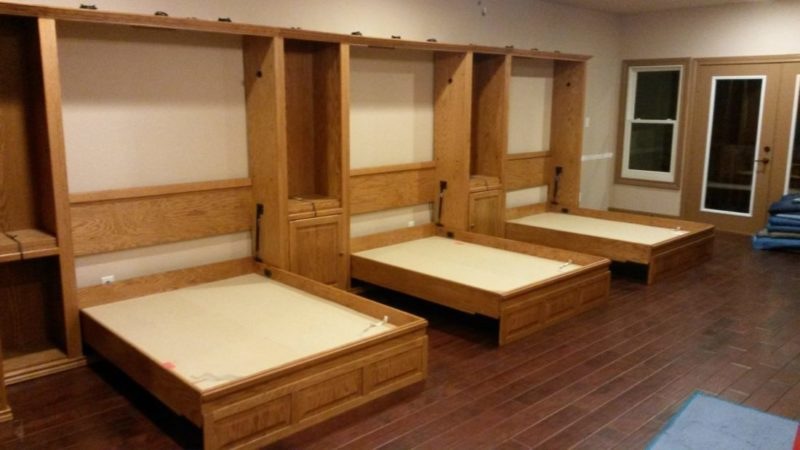 unique murphy bed | Furniture in the Raw Murphy Beds make any space an instant ...
