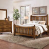 Artisan & Post Slat Bed Antique Amish