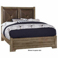 Cool Rustic Leather Bed by Artisan & Post