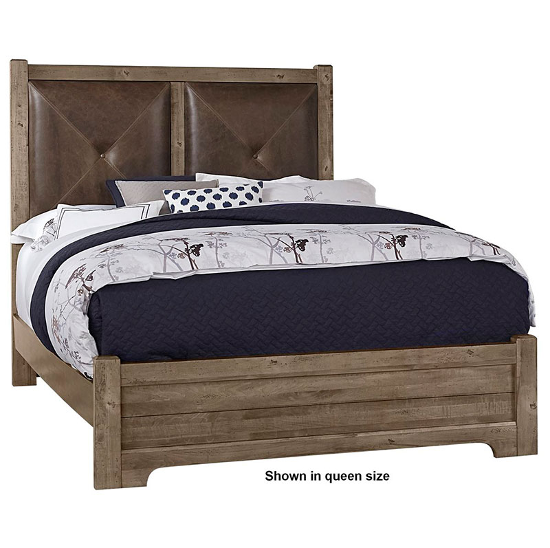 American Made Furniture Stores Near Me: The Artisan Post Cool Rustic Leather Bed Is Made In America