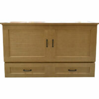Harrison Cabinet Bed Sand