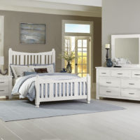 Slat chalk white Artisan & Post Slat Bed