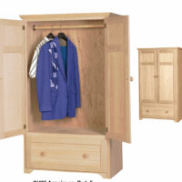 IN435 Clothing Armoire