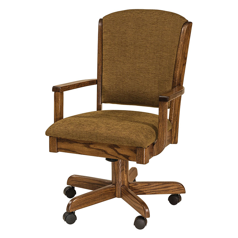 Baywood Amish Desk Chair