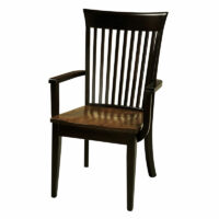 Amish Made Coral Arm Chair