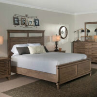 Farmhouse Chic Bedroom by John Thoma