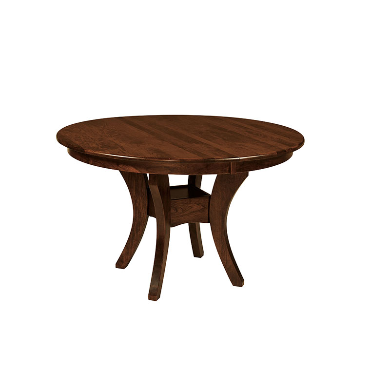 The Amish Made Garner Dining Table Is Made To Order In The