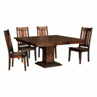 Garrison Amish Table Julie Chair