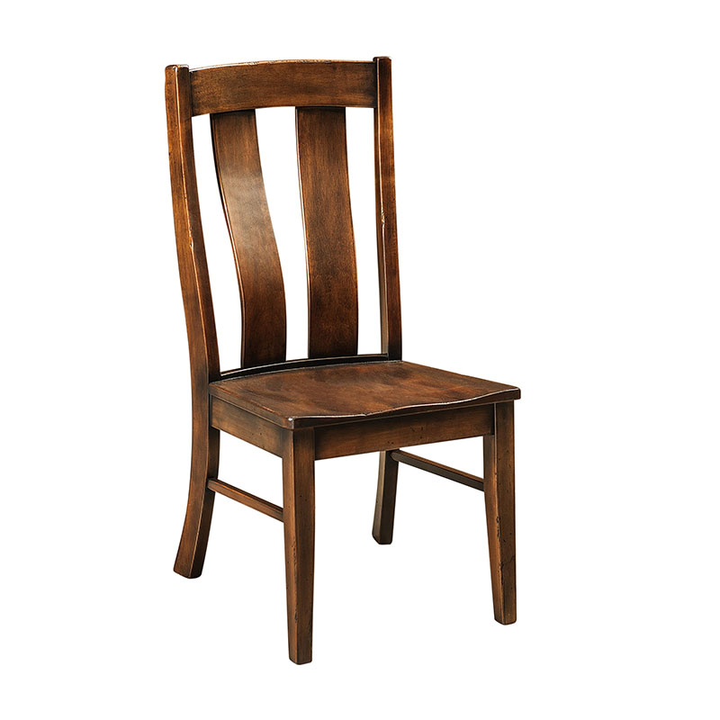 Tremendous The Amish Lakewood Dining Chair Is Made In Your Choice Of Wood Download Free Architecture Designs Scobabritishbridgeorg