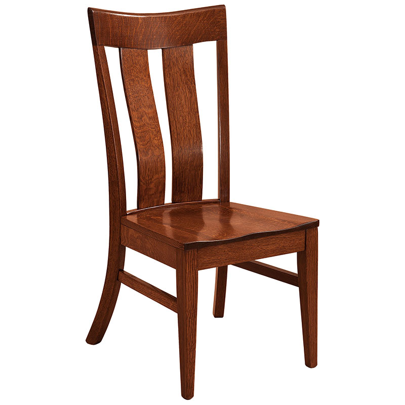 Marvelous The Amish Stanton Dining Chair Is Hand Crafted In The Usa Download Free Architecture Designs Sospemadebymaigaardcom