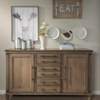 Farmhouse Chic Dining Server by John Thomas