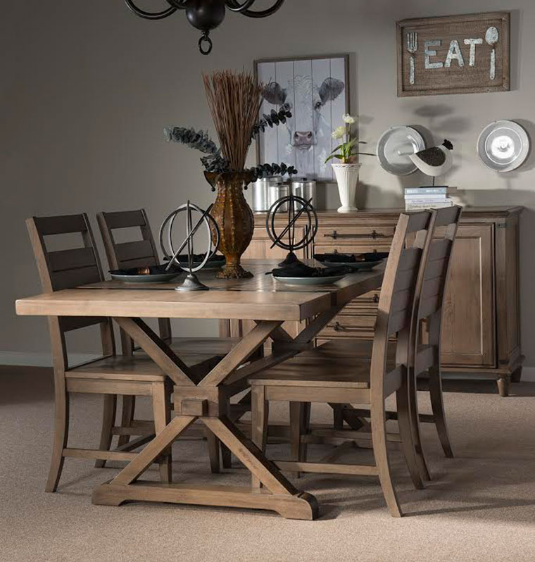 Farmhouse Chic Dining by John Thomas