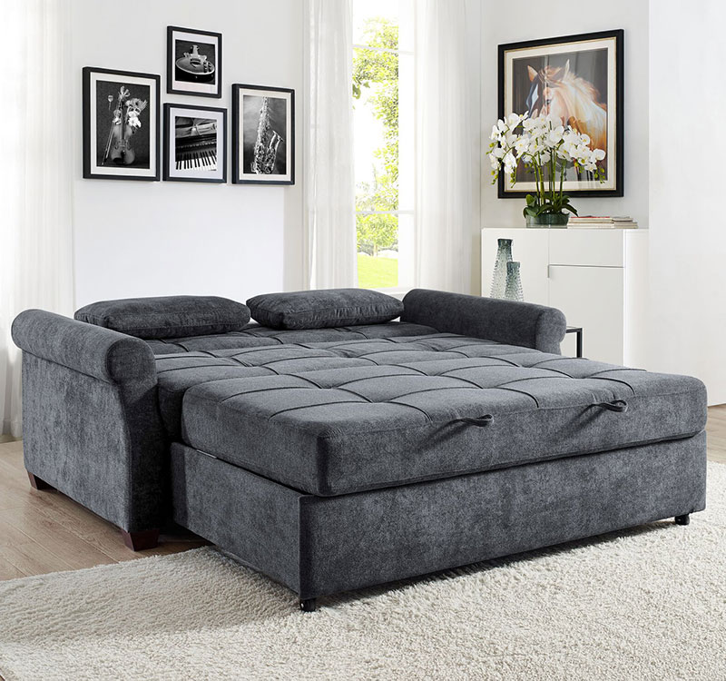 The Serta Hampton Convertible Sleeper Sofa Is A Sleep Solution