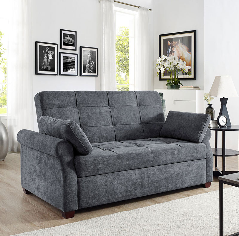 Serta Hampton Convertible Sofa Bed and Lounger