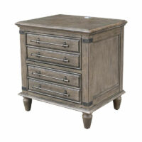 BD40-9002 Farmhouse Chic Nightstand