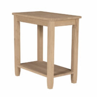 OT-6A Narrow End Side Table Solano