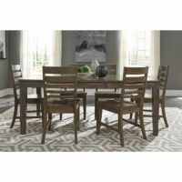 T13-406018 C46 Luxe Extension Dining Set