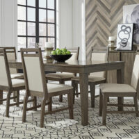 T13-406018 C52 Luxe Extension Dining Set