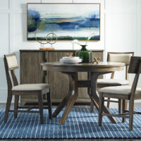 T13-44_C13-56 Luxe Solid Ronund Dining