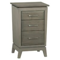 Ellison 3-Drawer Small Nightstand