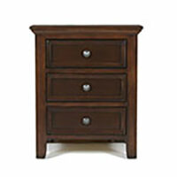 Monroe Bedroom 3 drawer nightstand