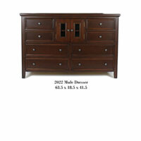 Monroe Mule Dresser wood or glass doors