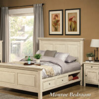 Monroe Storage Bed by North American Wood