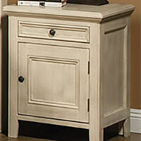 Monroe 1 Drawer 1 Door Nightstand