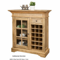 Smithsonian Wine Console 140W