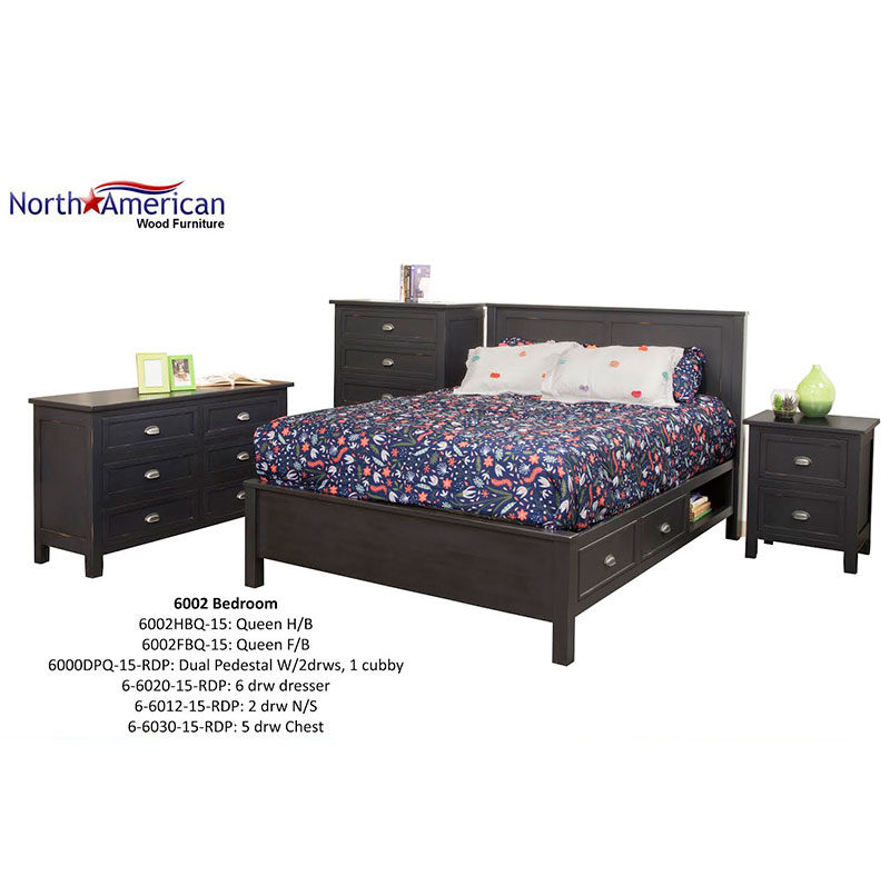 Winfrey 6002 Bedroom by North American
