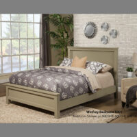 Winfrey Panel Bed 6002