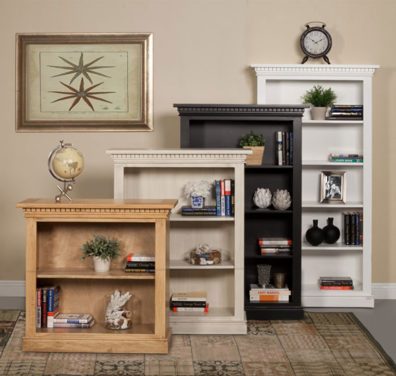 The San Jose Bookcase Is A Formal Full Wrap Trim Bookcase