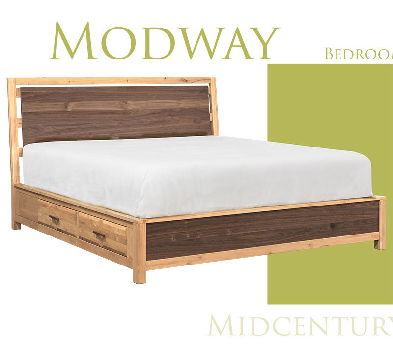A American Midway Storage Bed