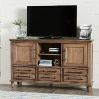 TV40-69 Farmhouse Chic TV cabinet