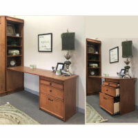 WALBED Murphy Bed desk pier