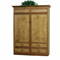 Woodland Murphy Bed