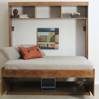 Avalon Hiddenbed Murphy Bed with hutch