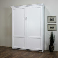 Saratoga Murphy Bed White Paint