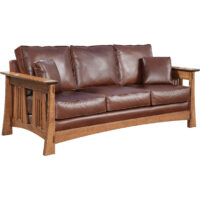 1740 Trend Manor Arts & Crafts Sofa and Love Seat