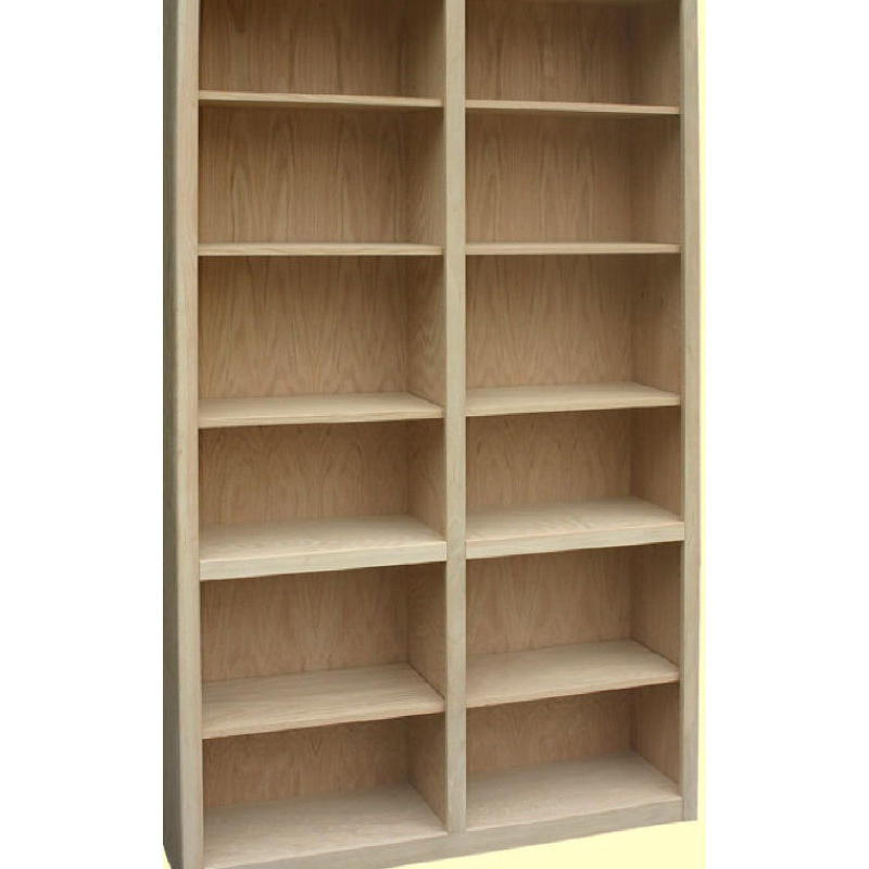 "48"" Wide FITR Double Bookcase"