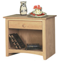 IN_1601 Shaker 1 Drawer Nightstand