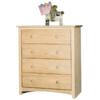 IN_1604 4 Drawer Shaker Chest