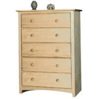IN_1605 Shaker 5 Drawer Chest
