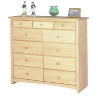 IN_1611 Shaker 11 Drawer Chest