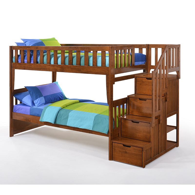 Peppermint Stair Bunk Bed