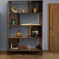 IFD7861BKCS70 Maya Tall Bookcase