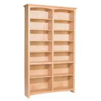 Whittier McKenzie Unfinished Bookcase