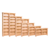 48″ Wide McKenzie Bookcases
