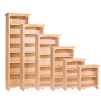 Whittier Wood Products Bookcases