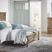 Provence Archbold Maple Bedroom